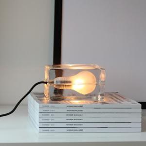 北欧デザイン照明の逸品、Harri Koskinen(ハッリ・コスキネン)のBlock Lamp(ブロックランプ)