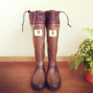 """大人気!""""日本野鳥の会""""の長靴"""